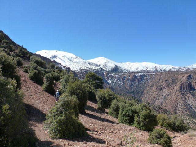 Aït Bougmez-plateau de Tafenfent
