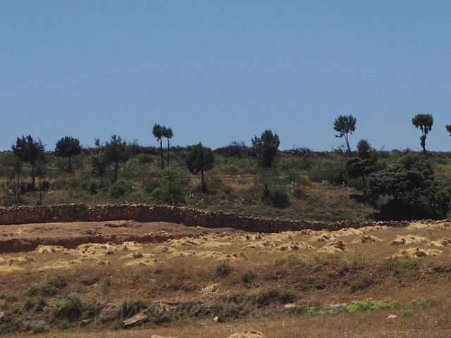 Cimetière sur le plateau du Kik